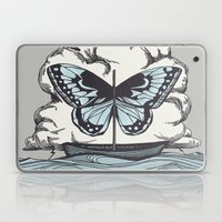 Butterfly Boat - We Are Not Troubled Guests Laptop & iPad Skin