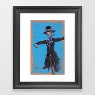 Mr. Turnip Head Framed Art Print