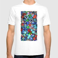 United Colors Of Interne… Mens Fitted Tee White SMALL