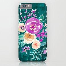 LAVISH FLORAL - EMERALD Slim Case iPhone 6s