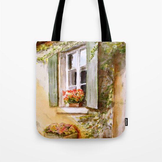 A Window in Hungary Tote Bag