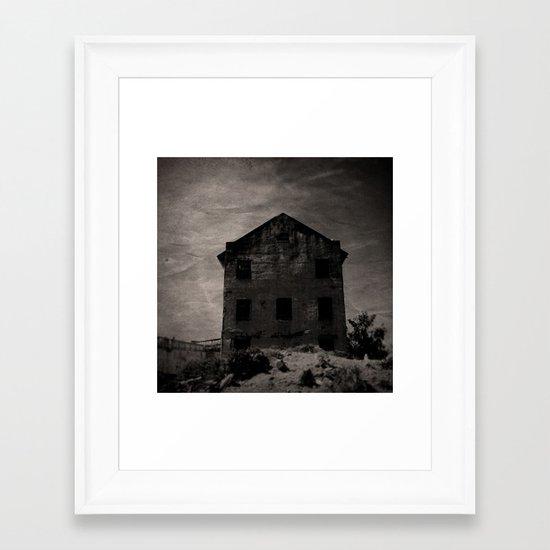 The Alcatraz Experiment Framed Art Print