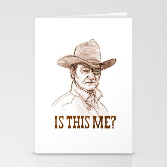 Is This Me? Stationery Card
