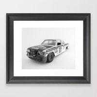 Wrecked Toy Car 02 - Alp… Framed Art Print