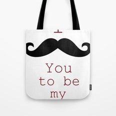 Moustache Tote Bag