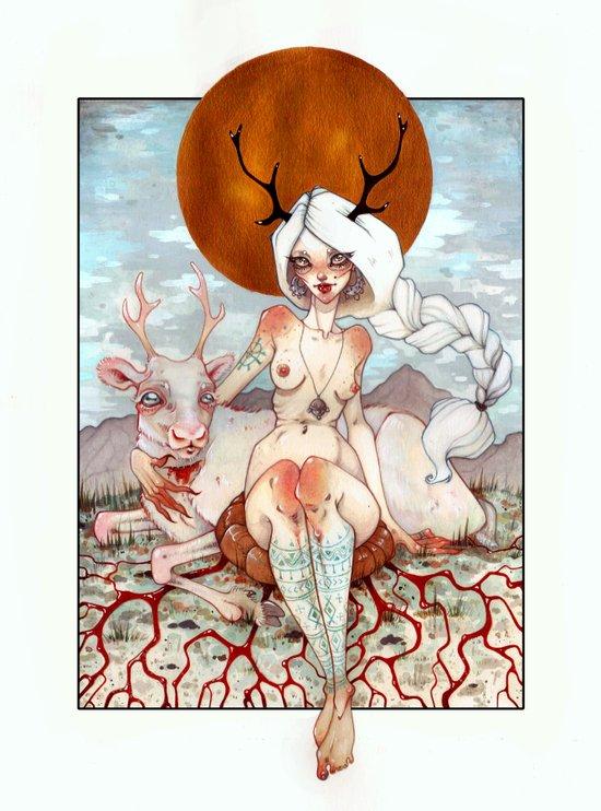 Beaivi Art Print