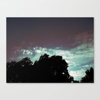 Just That Glow Canvas Print