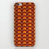 Woven Pixels I iPhone & iPod Skin