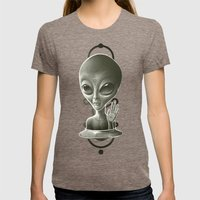 Alien II Womens Fitted Tee Tri-Coffee SMALL