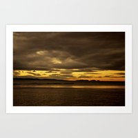 Sunset Dream Art Print