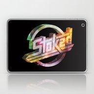 Stoked Cosmos Laptop & iPad Skin