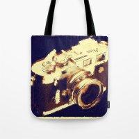 My camera Tote Bag