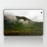 Laptop & iPad Skin featuring Green Land by Jane Lacey Smith