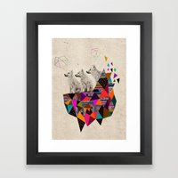 The Night Playground by Peter Striffolino and Kris Tate Framed Art Print