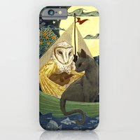 iPhone & iPod Case featuring The Owl and the Pussycat by Anne Lambelet