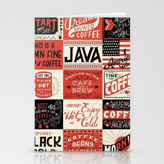 Coffee Stationery Card