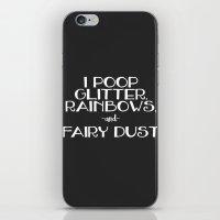 poop iPhone & iPod Skin