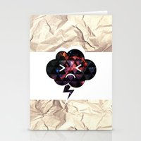 Cloudlet mood Stationery Cards