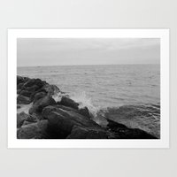 Long Beach, NY  Art Print