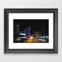 All Night Long Framed Art Print