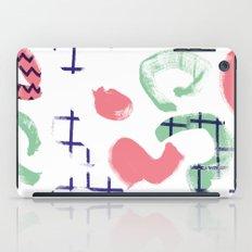 COLLAGE BRUSHSTROKES 1 iPad Case