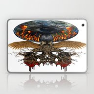 Planet Lives The Fear Laptop & iPad Skin
