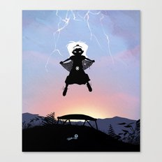 Storm Kid Canvas Print