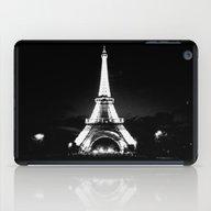 Paris Black & White iPad Case