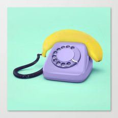 Telephone Banana Canvas Print