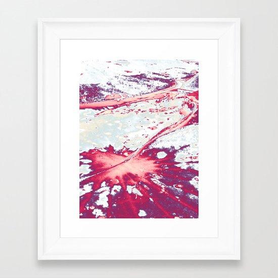 Petiole Framed Art Print