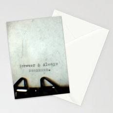 Forever and Always TTV Stationery Cards