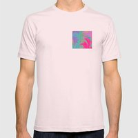Summer Break Mens Fitted Tee Light Pink SMALL