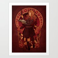 The Brightest Witch Of H… Art Print