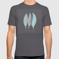 Feathers Mens Fitted Tee Asphalt SMALL