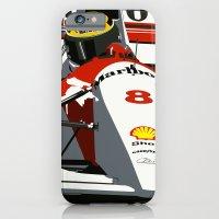AYRTON SENNA- MONACO GRAND PRIX iPhone 6 Slim Case