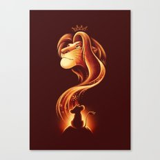The New King Canvas Print