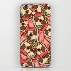 Puglie Poot Loops iPhone & iPod Skin