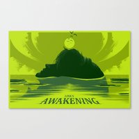 Link's Awakening (Open Edition) Canvas Print