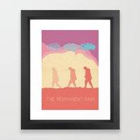 The Permanent Rain Framed Art Print
