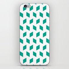 rhombus bomb in emerald iPhone & iPod Skin