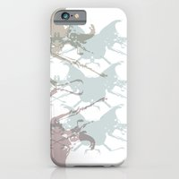 iPhone & iPod Case featuring Scarabs Faded by Patricia Blanco