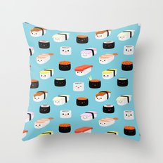 Sushi! Throw Pillow
