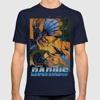 Darius Mens Fitted Tee Navy SMALL