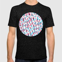 Mathilde Mens Fitted Tee Tri-Black SMALL