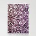 Purple Zen Bliss Stationery Cards