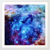Art Print featuring Galaxy by 2sweet4words Designs