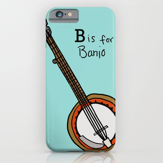 B is for Banjo  iPhone & iPod Case