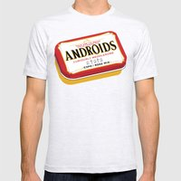 Androids Mens Fitted Tee Ash Grey SMALL