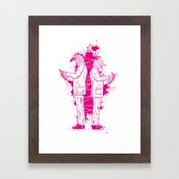 Artwork No.5 Framed Art Print