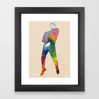 One Two Three - JUMP Framed Art Print